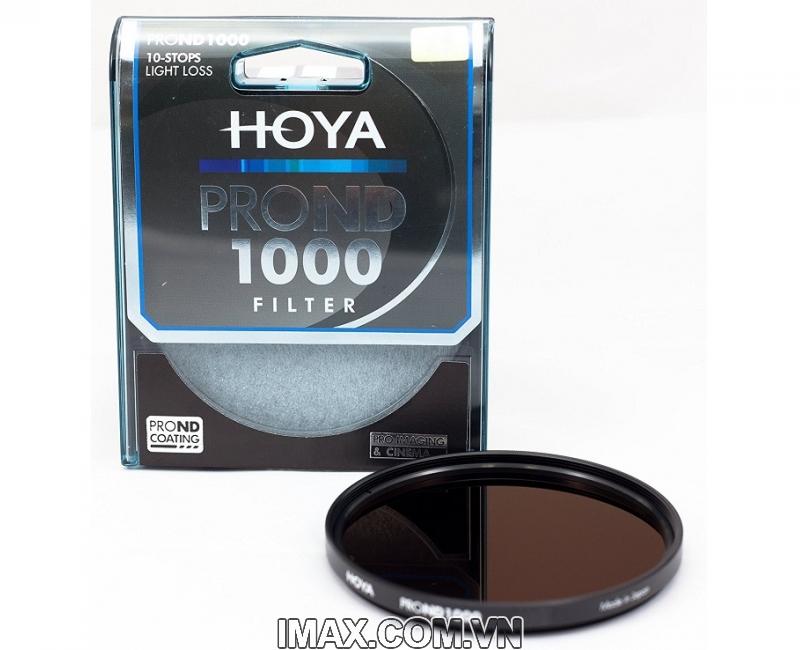 Kính lọc Filter Hoya Pro ND1000 82mm 3