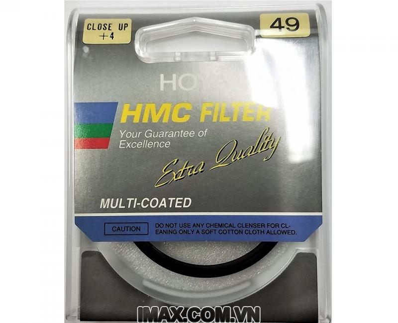 Kính lọc Filter Hoya Close up + 4 62mm 1