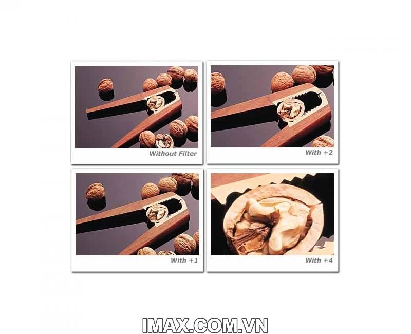 Kính lọc Filter Hoya Close up + 4 62mm 2