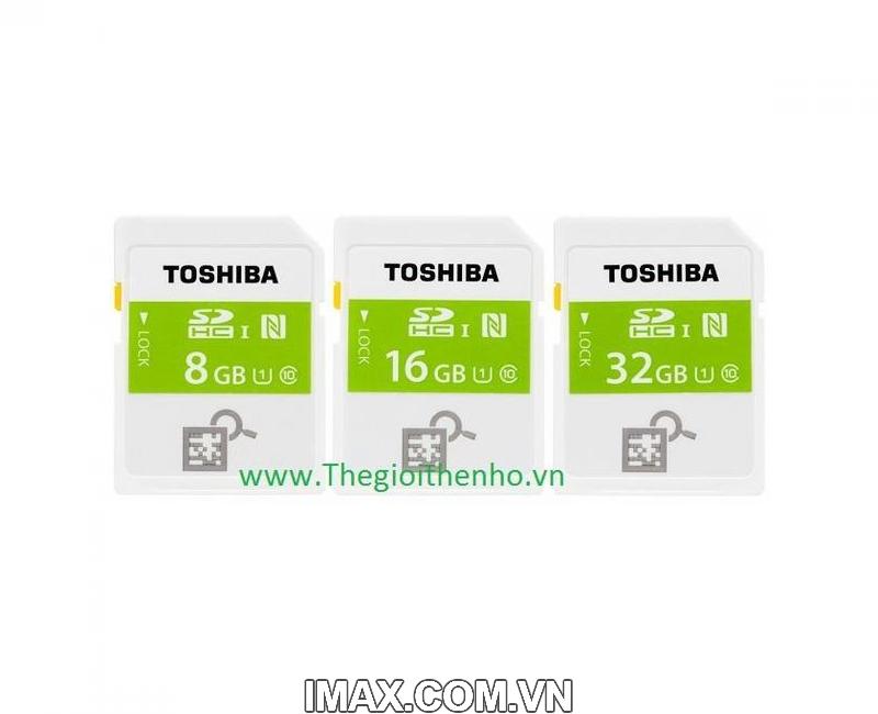 Thẻ nhớ SDHC Toshiba NFC 32GB Class 10 7