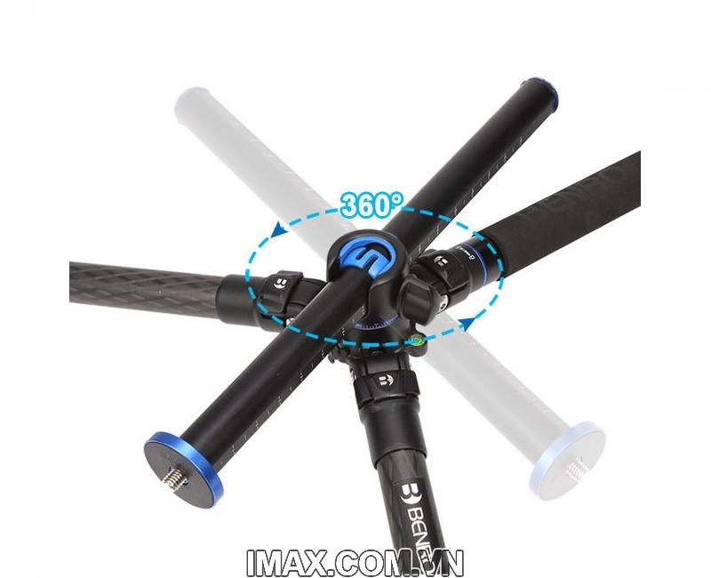 Chân máy ảnh Benro GC368T Go Travel Carbon Fiber Tripod 5