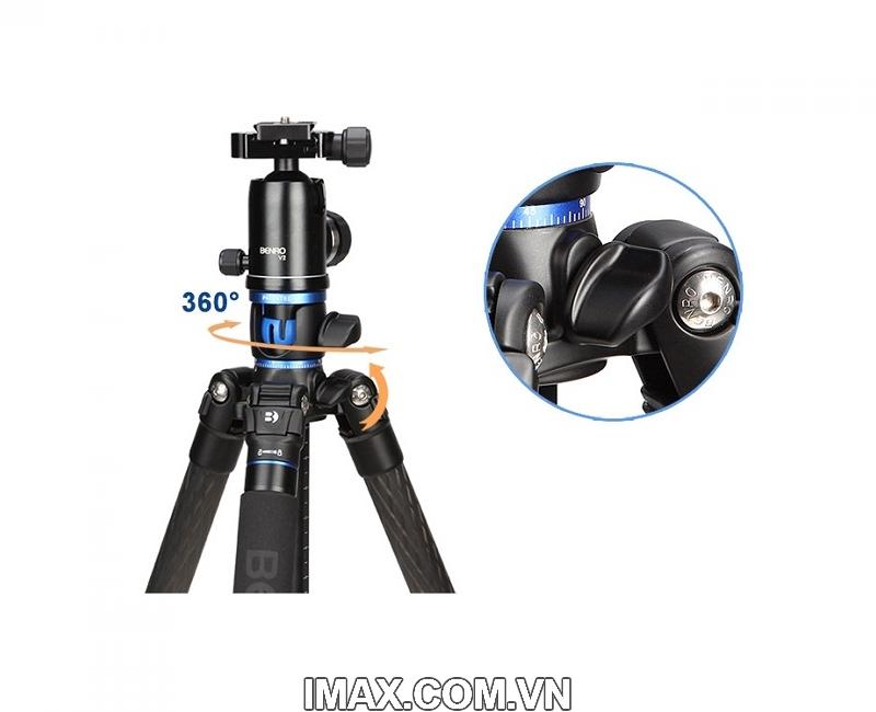 Chân máy ảnh Benro GC368T Go Travel Carbon Fiber Tripod 18