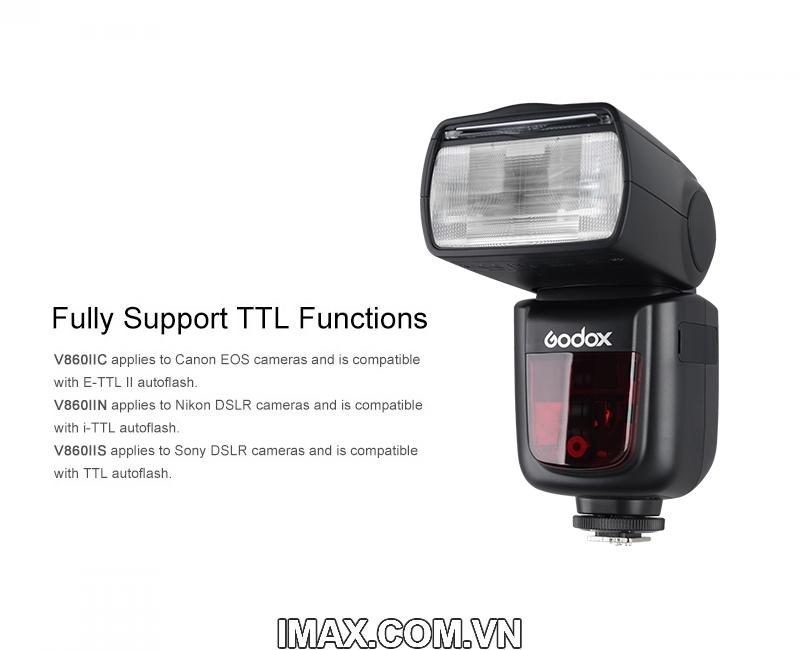 FLASH GODOX V860IIC TTL FOR CANON- HÀNG NHẬP KHẨU 3