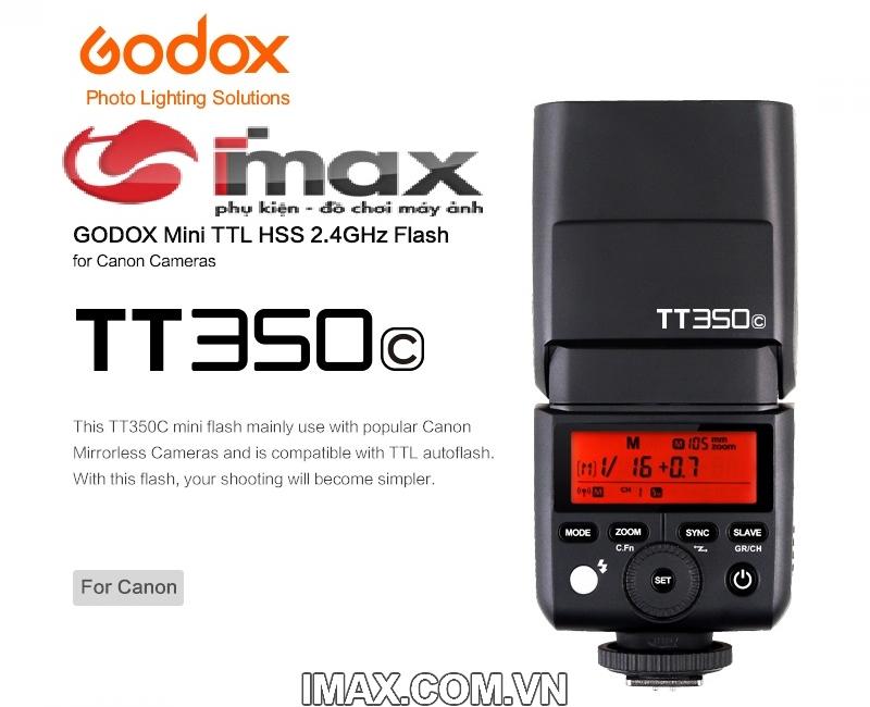 FLASH GODOX TT350C FOR CANON- HÀNG NHẬP KHẨU 4