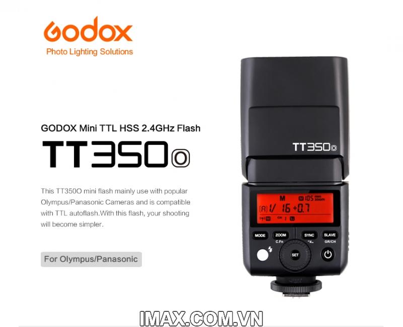 FLASH GODOX TT350O FOR OLYMPUS PANASONIC LEICA- HÀNG NHẬP KHẨU 1