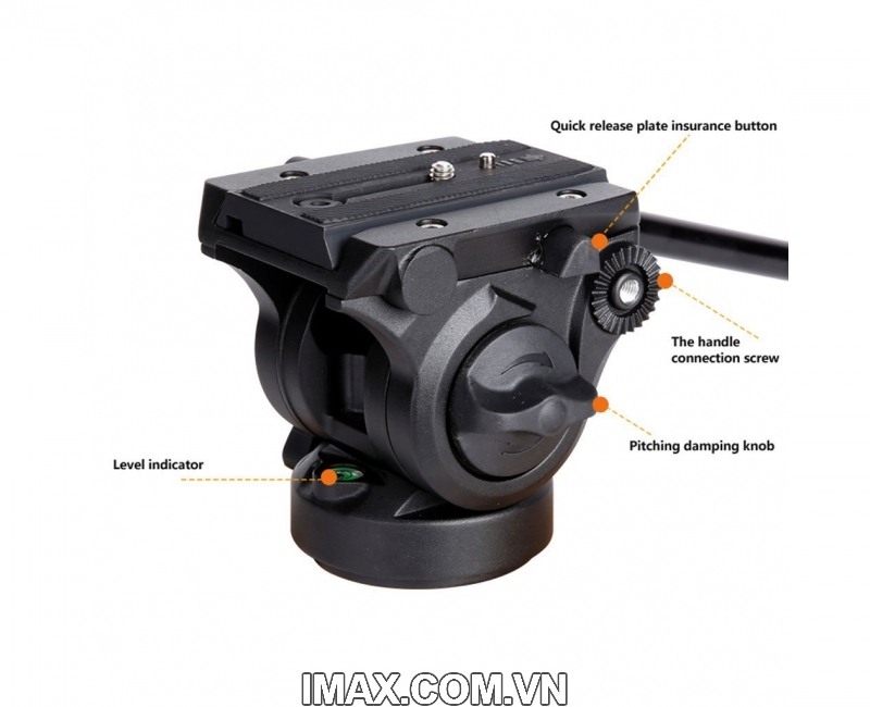 Chân máy ảnh Monopod Coman DX327AQ5 6
