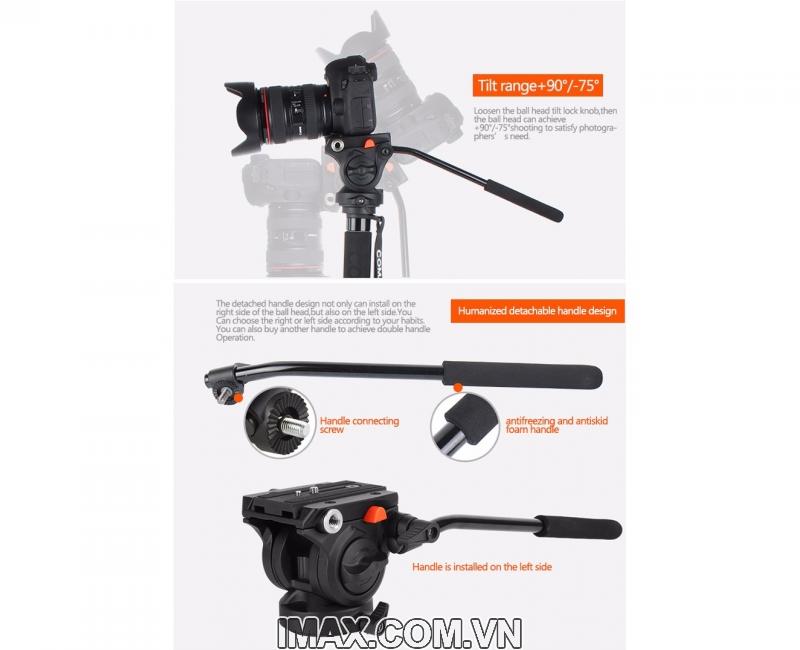 Chân máy ảnh Monopod Coman DX327AQ5 13
