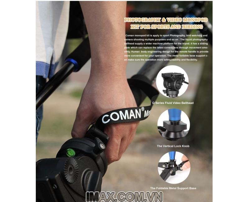 Chân máy ảnh Monopod Coman DX327CQ5 4