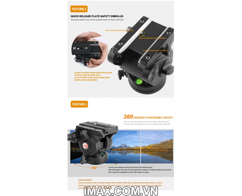 Chân máy ảnh Monopod Coman DX327CQ5 7