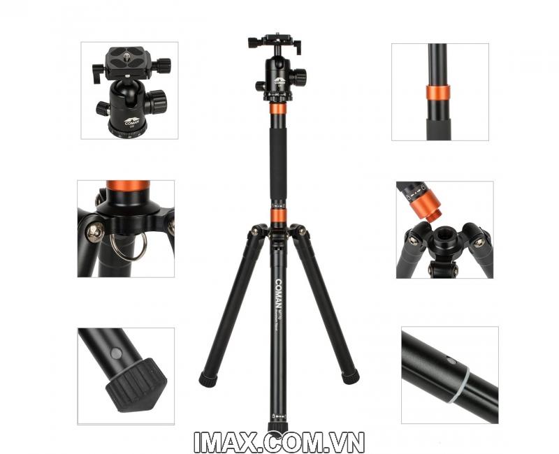 Chân máy ảnh Coman MT70 4