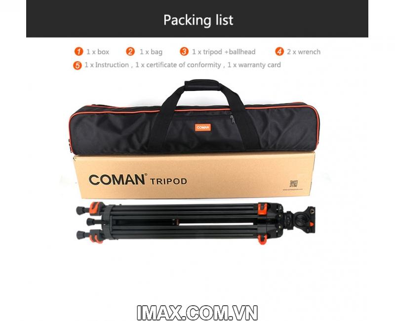 Chân máy quay Coman DF-16 1