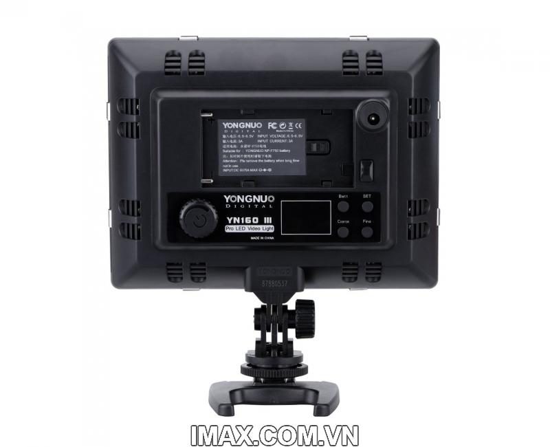 ĐÈN LED VIDEO YONGNUO YN160 III 4