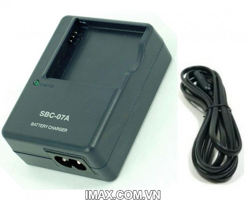 Sạc máy ảnh Samsung SBC-07A (cho pin Samsung SLB-07A ) - Hàng nhập khẩu 1