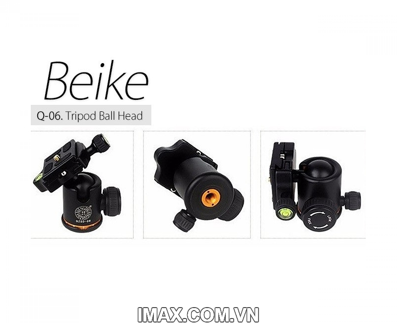 Chân máy ảnh Beike Q278, Tripod kết hợp monopd 5