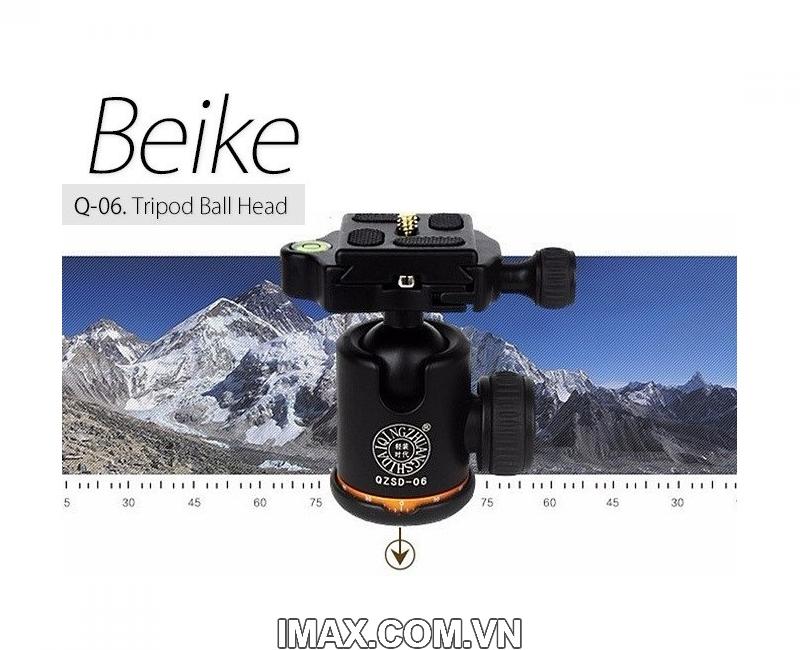 Chân máy ảnh Beike Q278, Tripod kết hợp monopd 6