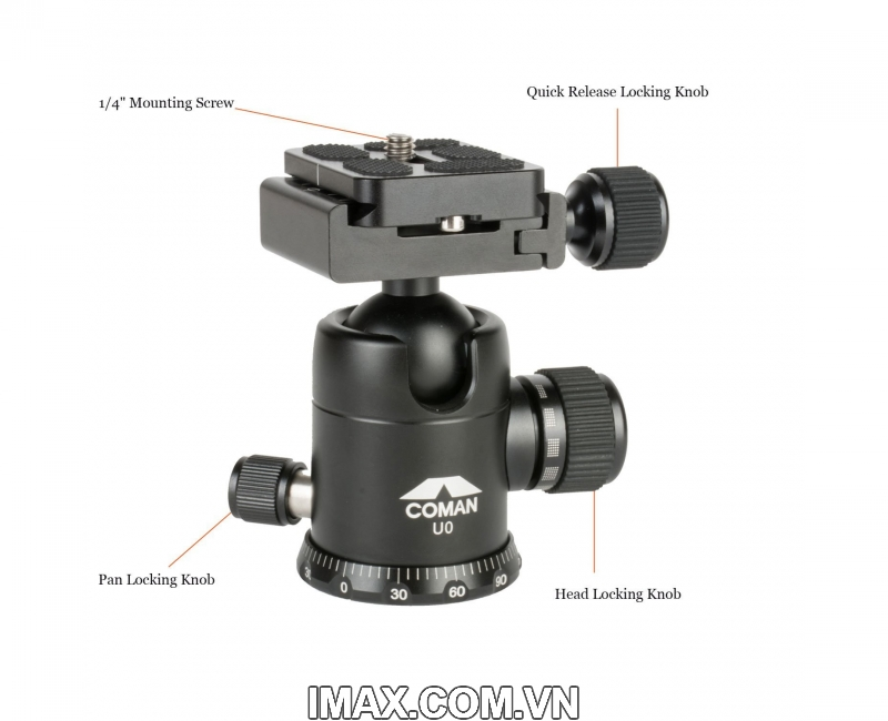 Chân máy ảnh Tripod/ Monopod Coman C2016 Carbon 4