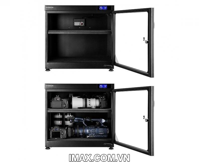Tủ chống ẩm ANDBON AD-80HC, tủ ngang 80 Lít 1