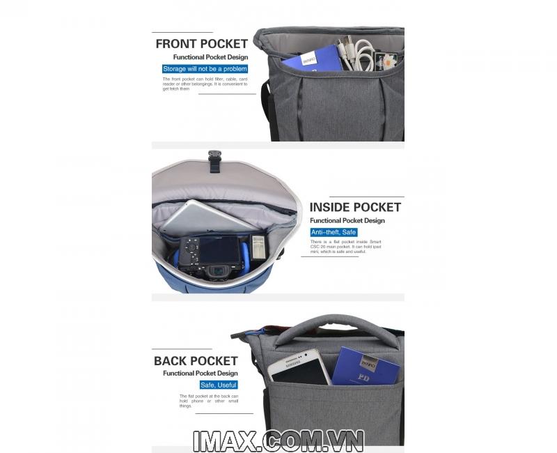 Túi máy ảnh Benro Smart CSC 10 5