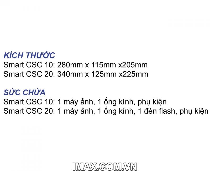Túi máy ảnh Benro Smart CSC 10 7