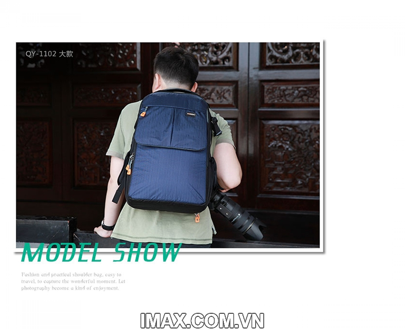 Balo máy ảnh Tonba QY-1101 11