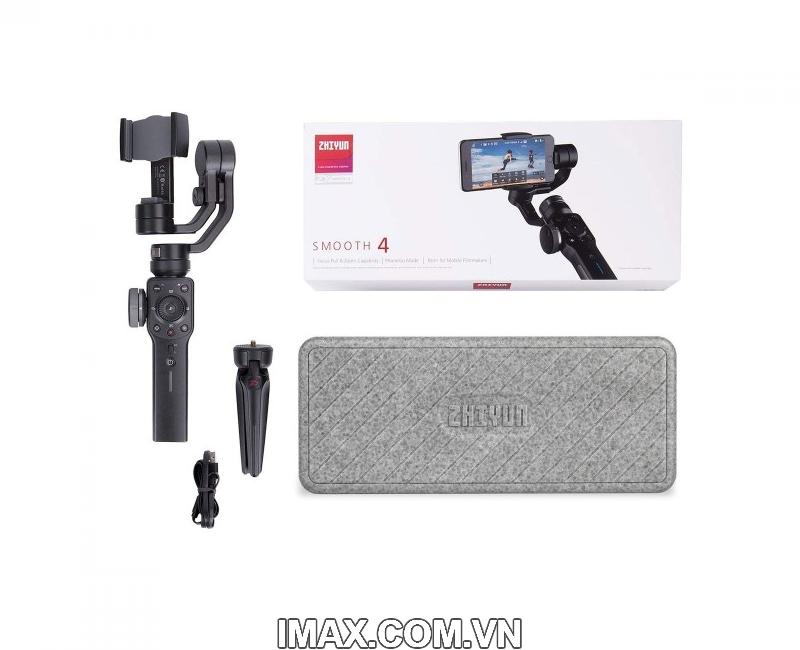 Thiết bị chống rung Zhiyun Smooth 4 - Gimbal 3 trục cho điện thoại - Chính hãng 3