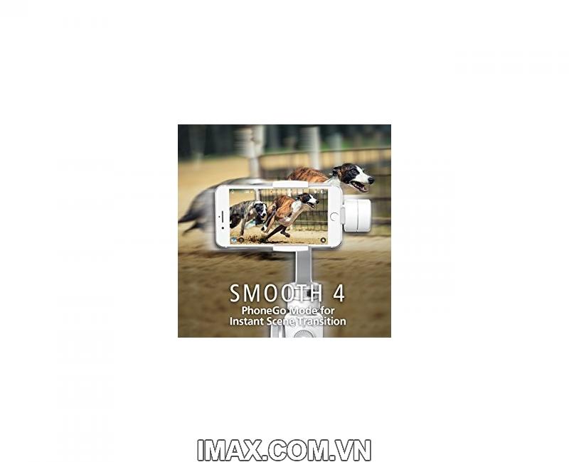 Thiết bị chống rung Zhiyun Smooth 4 - Gimbal 3 trục cho điện thoại - Chính hãng 6