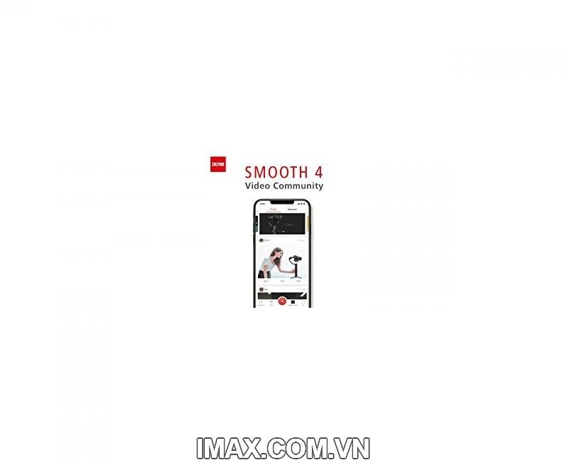 Thiết bị chống rung Zhiyun Smooth 4 - Gimbal 3 trục cho điện thoại - Chính hãng 11
