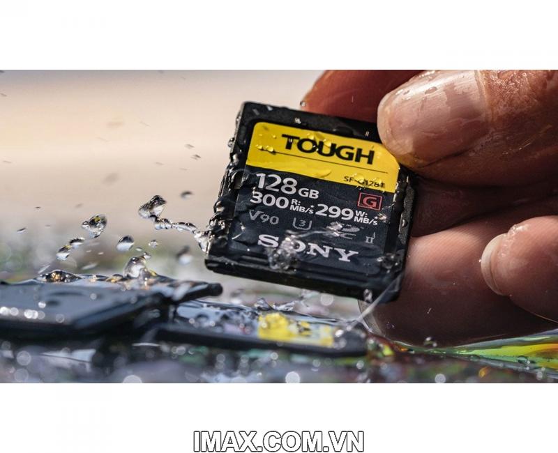 Thẻ nhớ Sony SDXC 64GB SF-G series TOUGH UHS-II V90 U3 300MB/s 3
