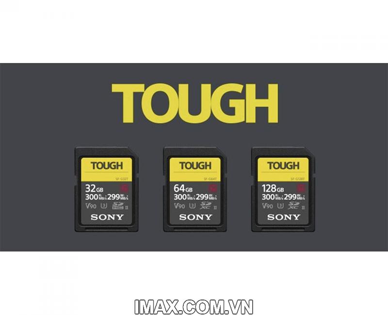 Thẻ nhớ Sony SDXC 64GB SF-G series TOUGH UHS-II V90 U3 300MB/s 9