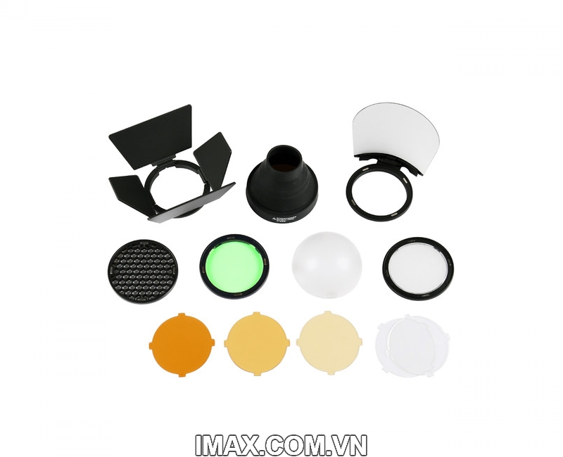 Bộ phụ kiện Godox AK-R1 cho đầu đèn flash tròn H200R, V1 1