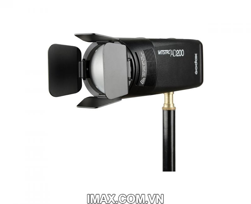Bộ phụ kiện Godox AK-R1 cho đầu đèn flash tròn H200R, V1 15