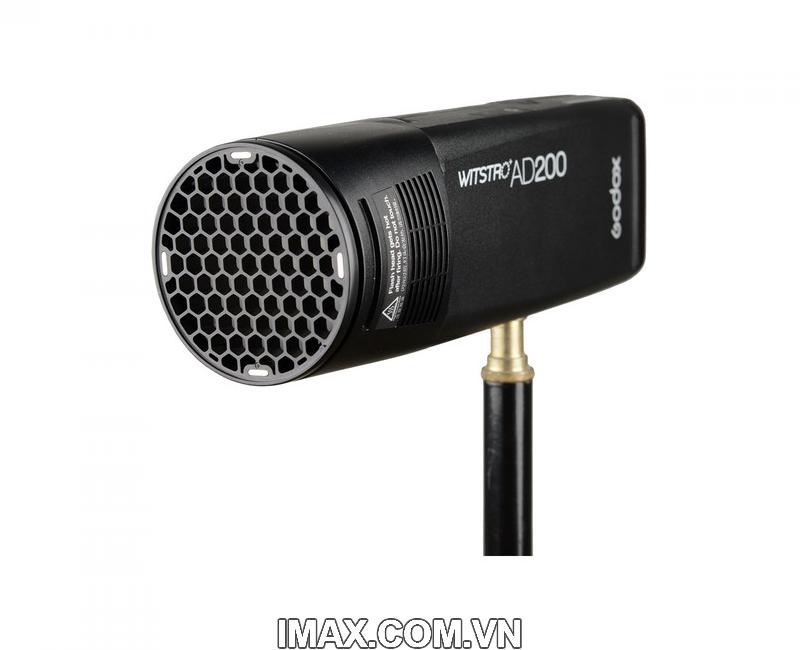 Bộ phụ kiện Godox AK-R1 cho đầu đèn flash tròn H200R, V1 16