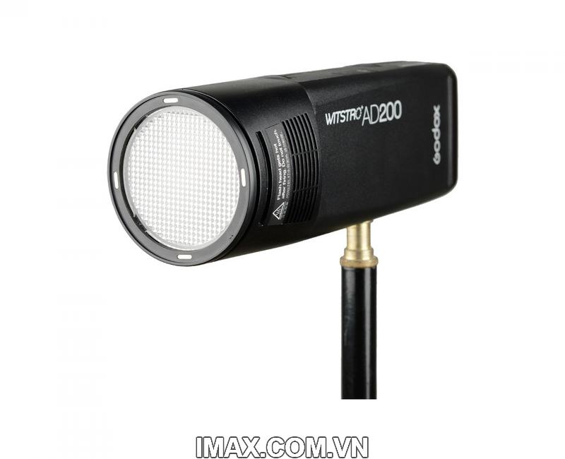Bộ phụ kiện Godox AK-R1 cho đầu đèn flash tròn H200R, V1 18