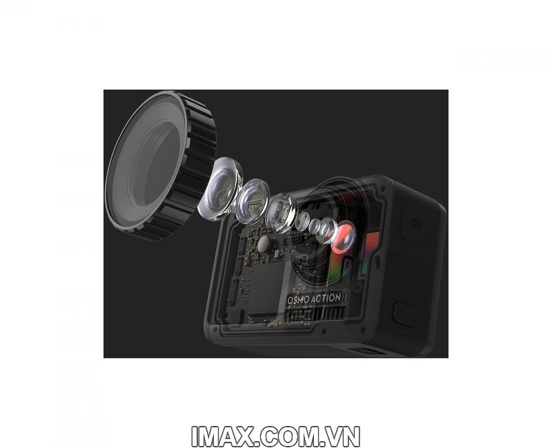 Combo DJI Osmo Action + bộ phụ kiện 30 in 1 + Thẻ nhớ 64gb quay 4k 19