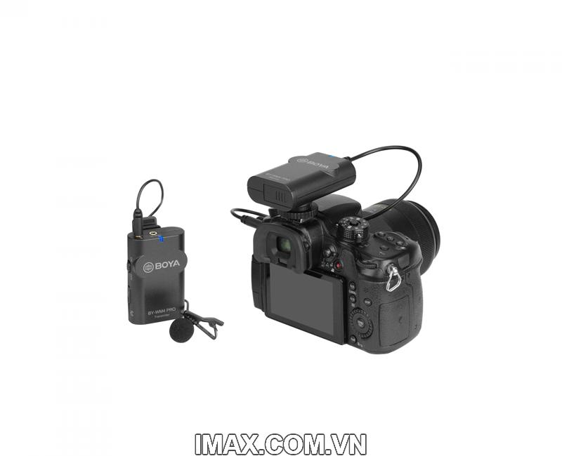 Micro thu âm không dây Boya BY-WM4 Pro-K1 3