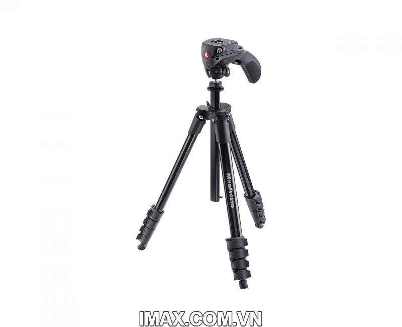 Chân máy ảnh Manfrotto Compact Action (Màu Đen) 1