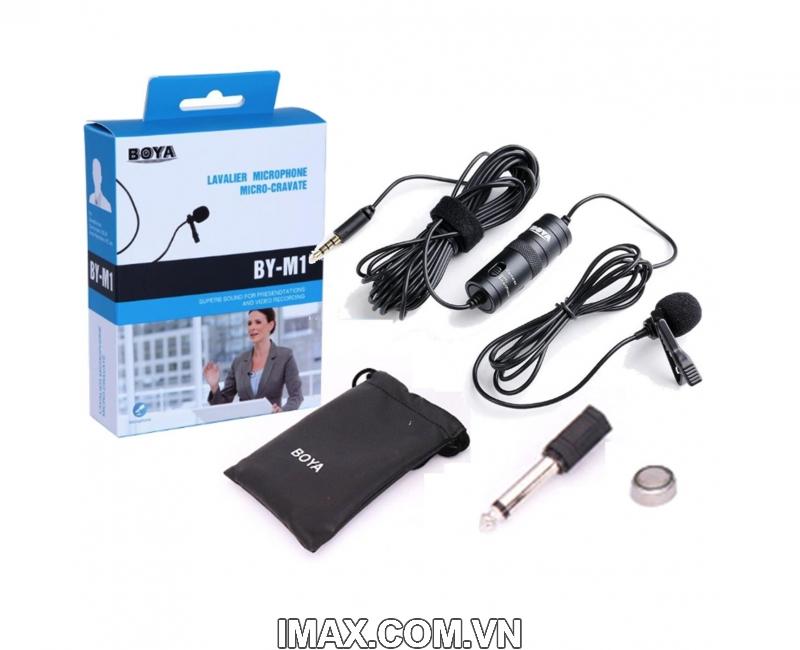 Micro thu âm đa năng Boya BY-M1 2