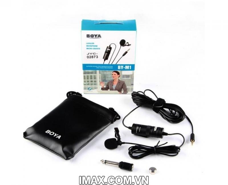 Micro thu âm đa năng Boya BY-M1 3