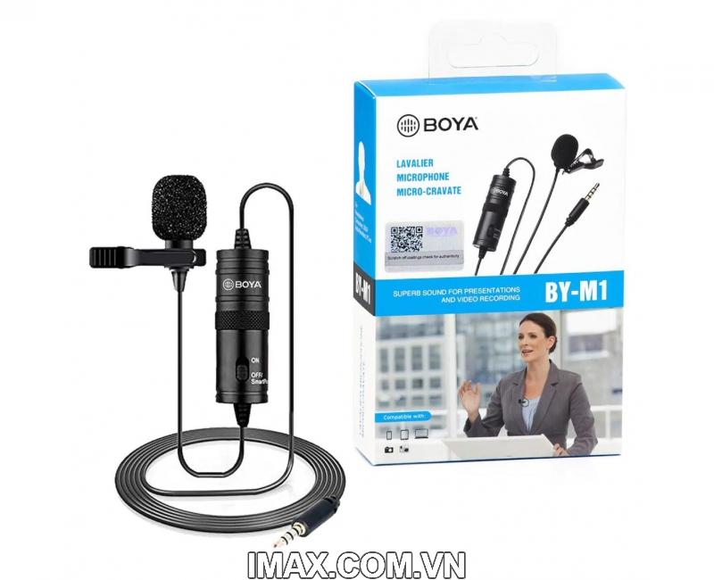 Micro thu âm đa năng Boya BY-M1 5