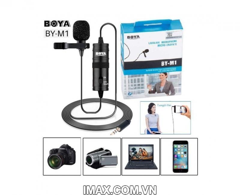Micro thu âm đa năng Boya BY-M1 6