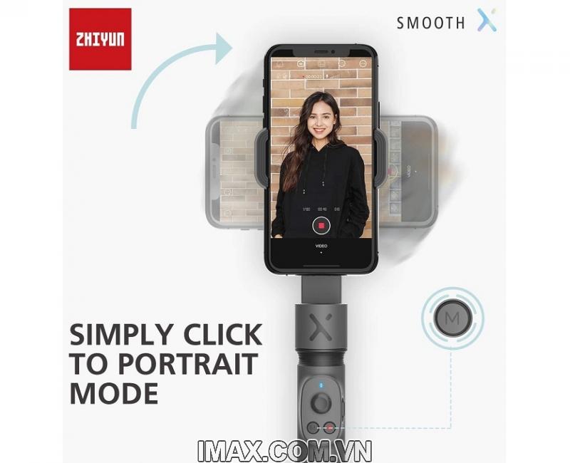 Combo Zhiyun Smooth X + chân đế + túi - Hàng chính hãng 2