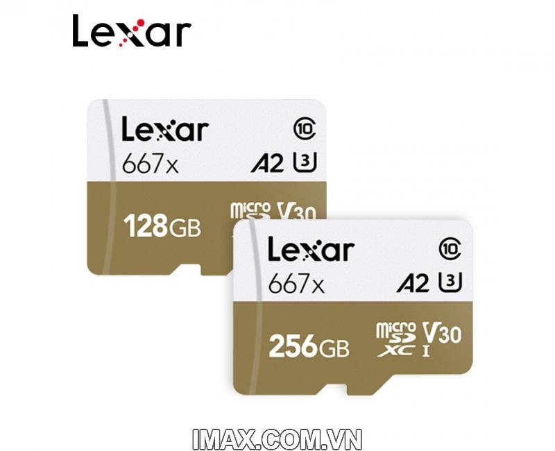 Thẻ nhớ 128GB Micro SDXC Lexar 667X 100MB/s 4