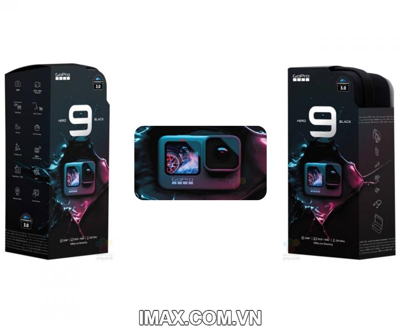 Gopro Hero 9 Black 2 màn hình, Chính hãng FPT 2