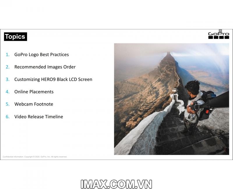Gopro Hero 9 Black 2 màn hình, Chính hãng FPT 7