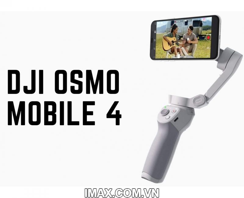 Thiết bị chống rung DJI Osmo Mobile 4 - Gimbal 3 trục cho điện  thoại - Hàng chính hãng 9