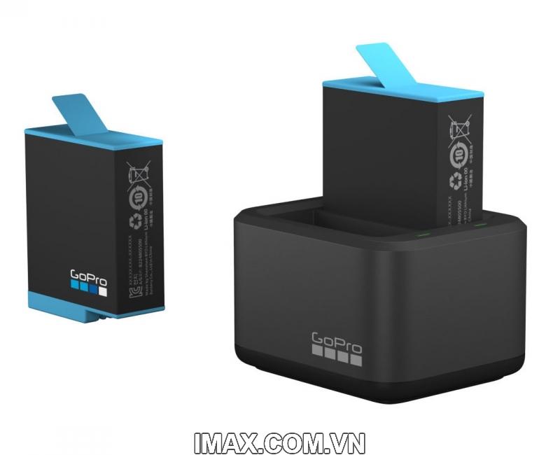 Bộ 1 pin 1 sạc đôi chính hãng GoPro Hero 9 Black 1
