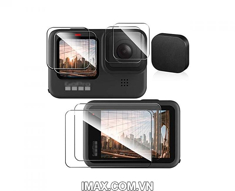 Tấm dán cường lực GoPro Hero 9 Black, Dán màn hình + ống kính 2