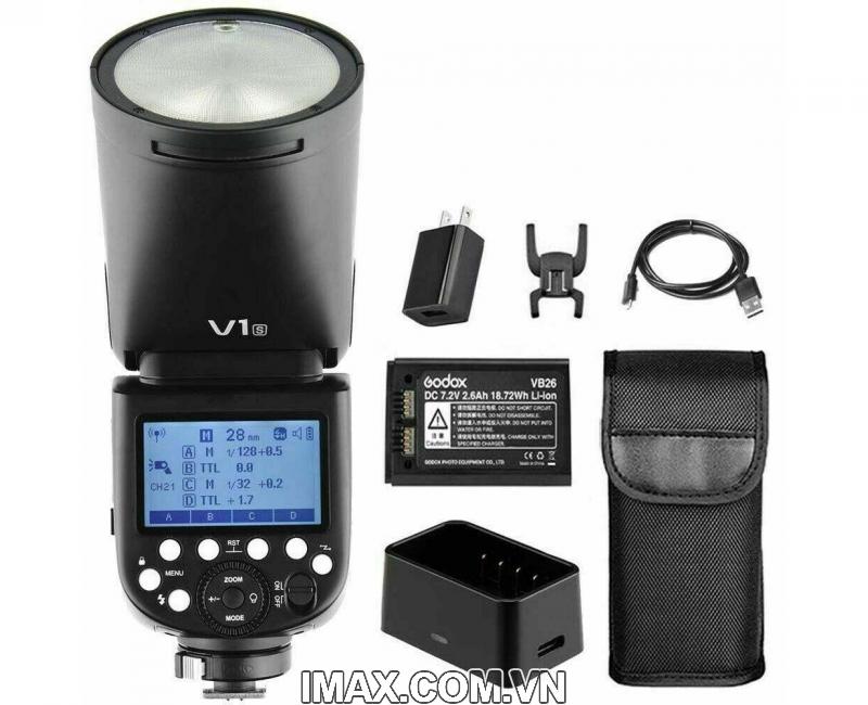 Đèn Flash Godox V1S cho Sony, Hàng nhập khẩu 6