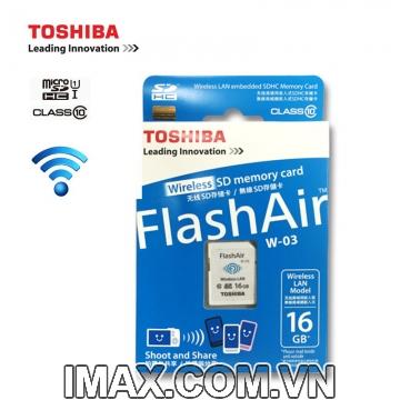 Thẻ nhớ Toshiba SDHC Wifi W-03 16GB Class 10