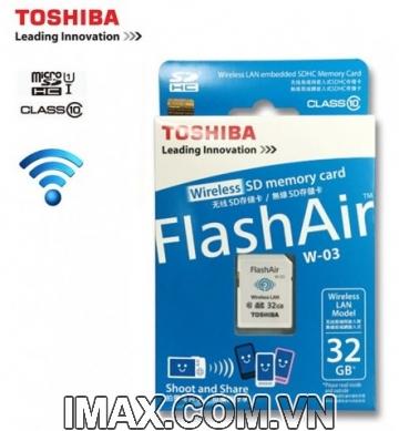 Thẻ nhớ Toshiba SDHC Wifi W-03 32GB Class 10